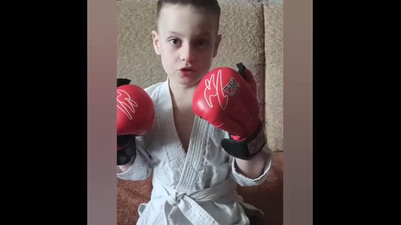 Всемир Чеплейкин, 6 лет. Тренер В. Болох