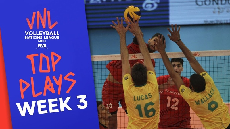 Top Plays of Men's VNL2019 Week 3 Volleyball Nations League 2019