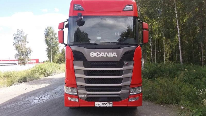 Обзор Scania S500 Первые впечатления от машины