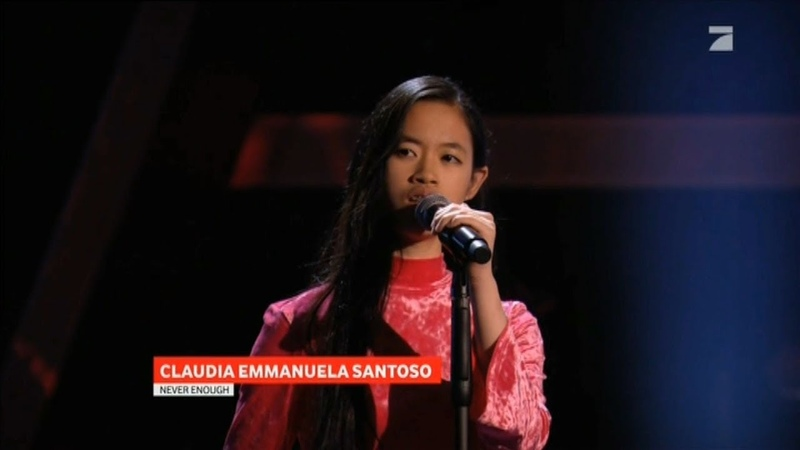 Claudia Emmanuela Santoso Loren Allred Never Enough The Voice 2019 Germany