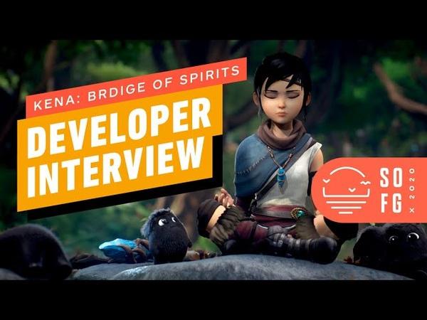 Kena Bridge of Spirits Developer Interview Summer of Gaming 2020