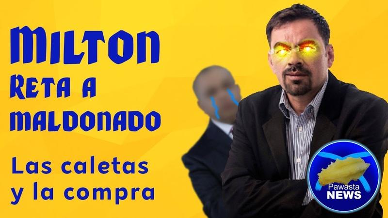 El Perro Amarillo reta a Maldonado ¡Las Caletas y La compra falsa de JOH PAWASTA NEWS