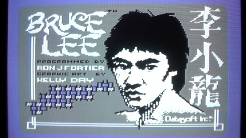 Let's Compare: Bruce Lee (800XL/C64/CPC/Spectrum/MSX)