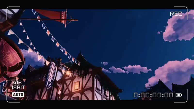 Genshin Impact music time lapse