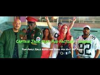 Captain Jack feat. Fun Factory - Change Tom Payle Italo Remix and Video Mix Edit VDJ Puzzle 2K20