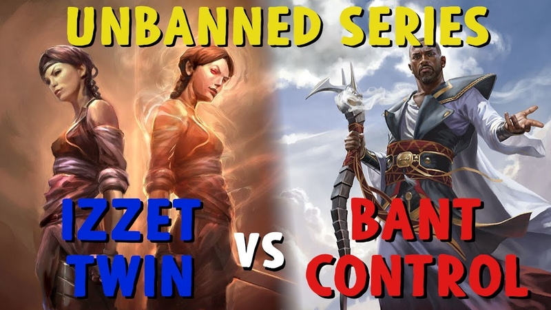 UNBANNED SERIES w Evaros Izzet Twin vs Bant Control Discussion