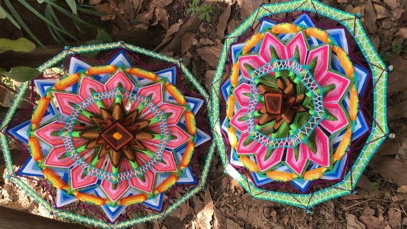Mandala Jardín de Tulipanes