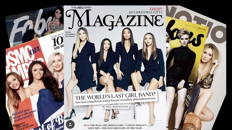 Little Mix Behind the Pop Star Glitz Glamour