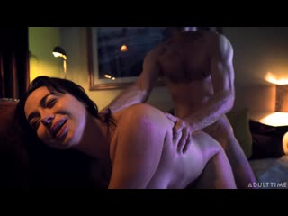 Siouxsie Q - Quarantined With My Step Dad (Blowjob, Brunette, Natural Tits, Stepdad, Hardcore)