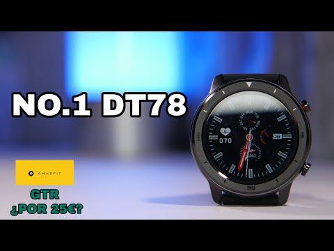¿Un Amazfit GTR por 25€ Primeras impresiones del Smartwatch NO 1 DT78 ¡Es idéntico