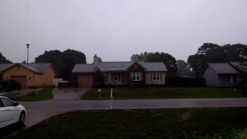 Hurricane Matthew in Fayetteville NC Part 1