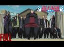 Ичиго и Урюу против школьной банды - Полный Бой (проф. озвучка)