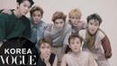 보그가 만난 NCTU 일곱 멤버들( 태용 재현 도영 마크 루카스 정우 윈윈)  VOGUE TV