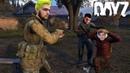 Симулятор бега с препятствиями DayZ с Шуссом и Алькором