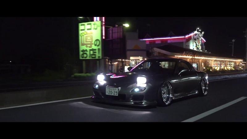 Night Drive   SEVENS   MAZDA RX-7 FD3S  4K
