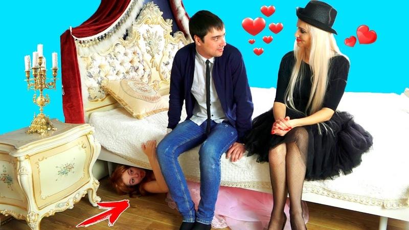 Маша в ШОКЕ Вика хочет отбить у нее богатого парня Сериал куклы ЛОЛ в реальной жизни Real Life LOL