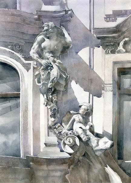 Гжегож Врубель (Grzegorz Wróbel польский художник-акварелист. Он носит уже прославленную в изобразительном искусстве фамилию. С раннего детства художник увлекался рисованием и живописью, но