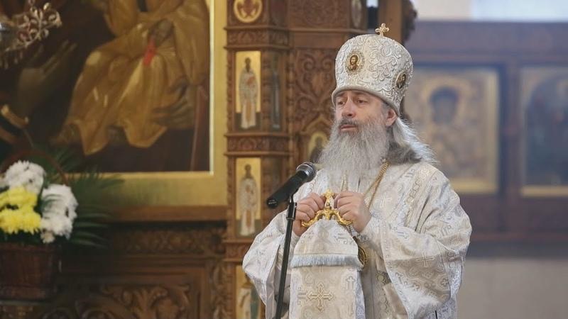Проповедь митр Арсения на Вознесение Господне 28 5 20 г