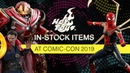 Hot Toys In Stock Display at SDCC 2019