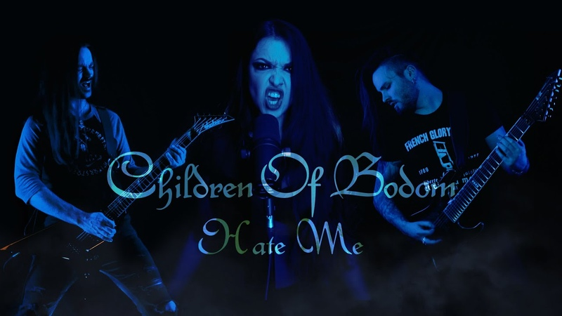 Children Of Bodom Hate Me Cover by Vicky Psarakis Quentin Cornet