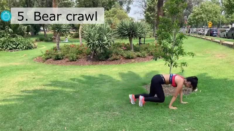 5 Bear crawl