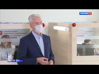 Эксклюзивные интервью с Собяниным и Воробьевым