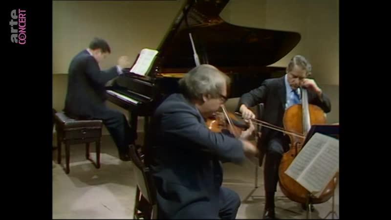 Бетховен Л ван Фортепианные трио Юджин Истомин Исаак Стерн Леонард Роуз 1970 г