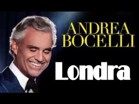 Andrea Bocelli concerto alla Roundhouse di Londra iTunes Festival YouTube