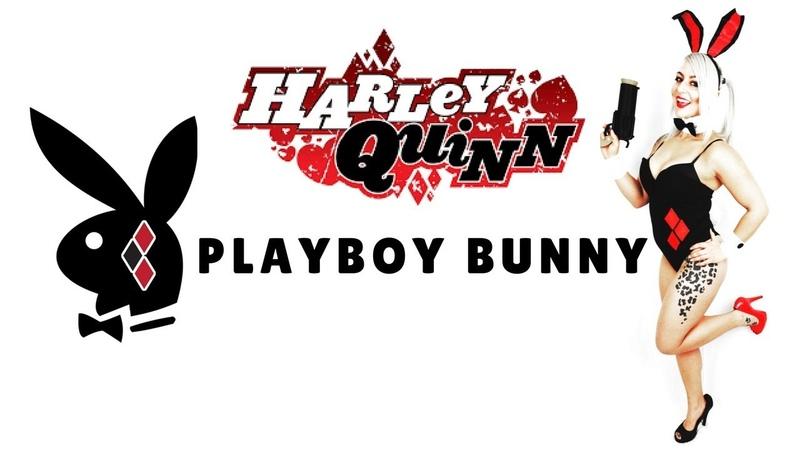 Playboy Bunny Harley Quinn Costume Tutorial