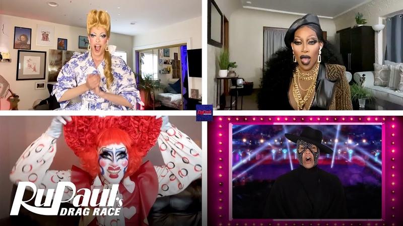 LIVE Reaction to Season 12 Winner w Crystal Gigi Jaida Essence Hall RuPaul's Drag Race