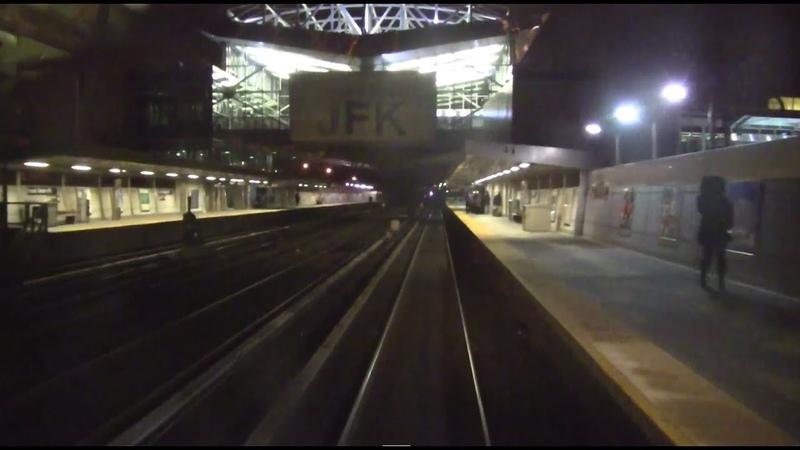 ᴴᴰ R32 C Train in the Rockaways RFW Footage - Beach 67th Street-Euclid Avenue