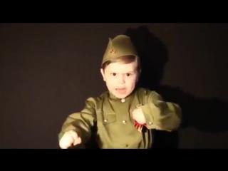 Надо так спеть эту песню, чтобы вся страна встала - 4-летний мальчик поёт песню
