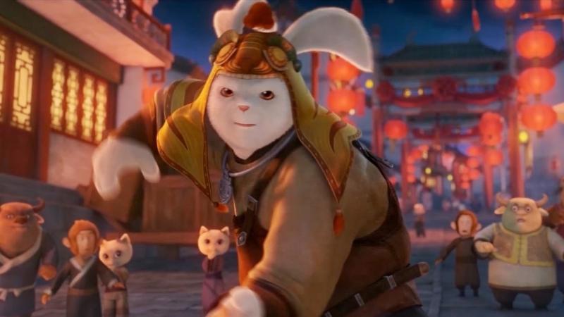 Кунг фу Кролик Повелитель огня Tu Xia Chuan Qi:Qing Li Chuan Shuo 2015