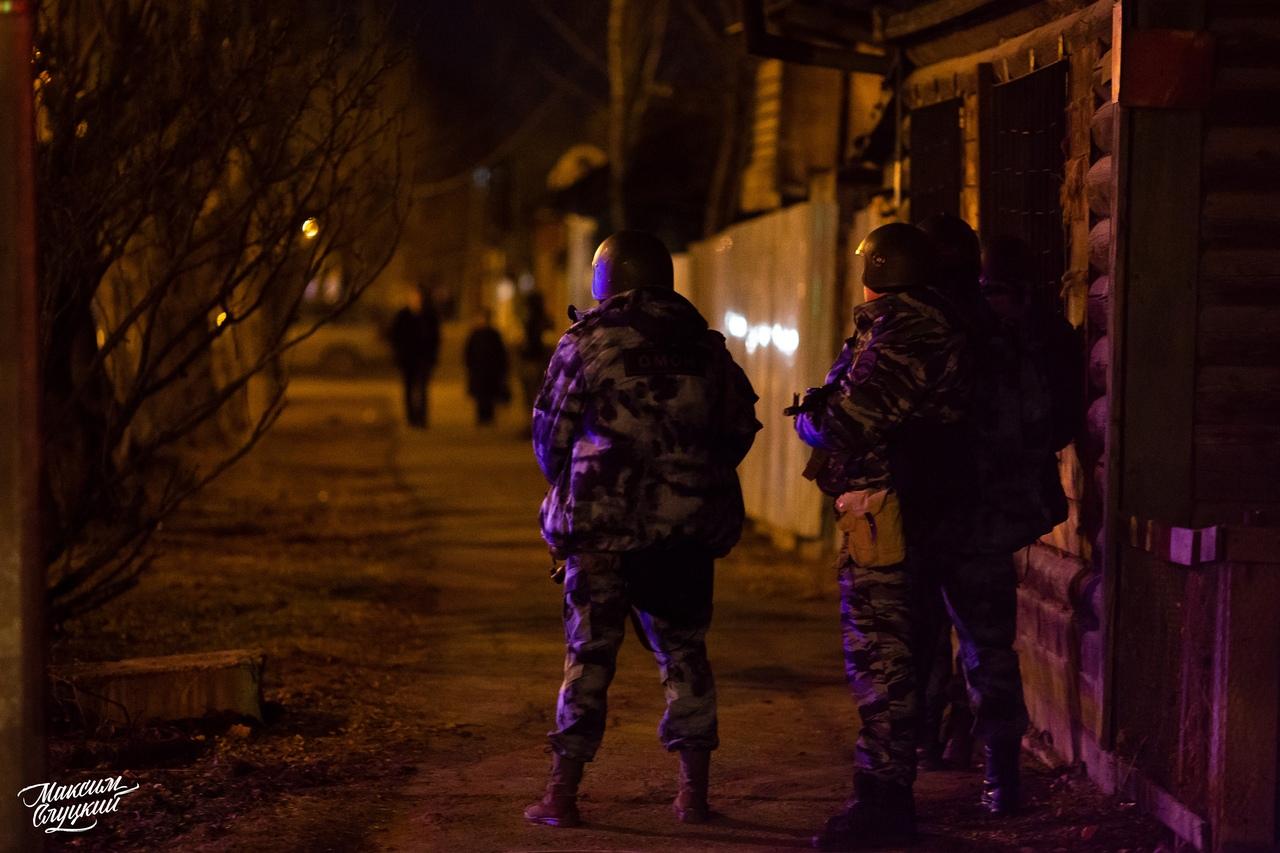 На улицах Тюмени стрельба ивведен режим КТО (возможно, это учения)
