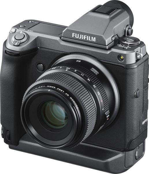 Fujifilm GFX 100 — высококлассная 100-Мп среднеформатная