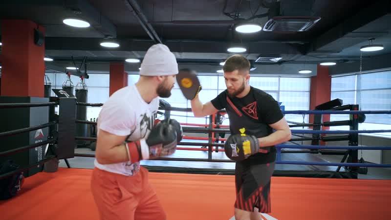Магомед Курбанов   Комбинация ударов   RCC Boxing Promotions