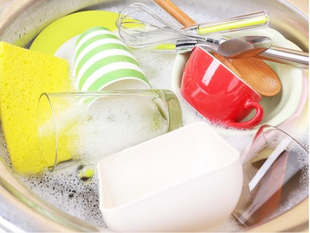 Кристально чистая посуда без капли химии