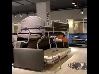 Ещё один вариант дивана-трансформера -