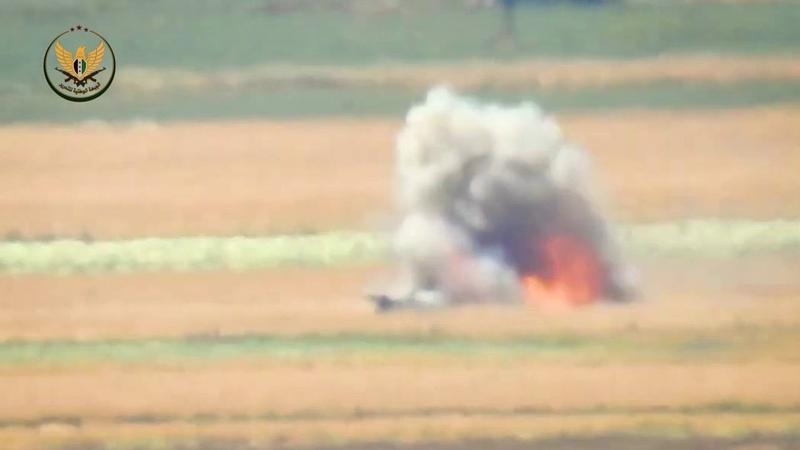 الجبهة الوطنية للتحرير||تدمير عربة BMP ثانية 1604