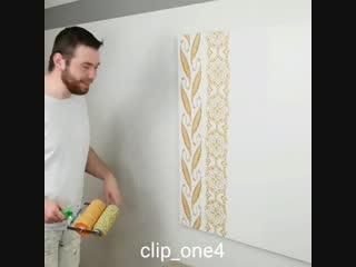 Идея декора стен -