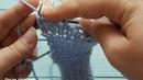 Как связать пинетки без швов