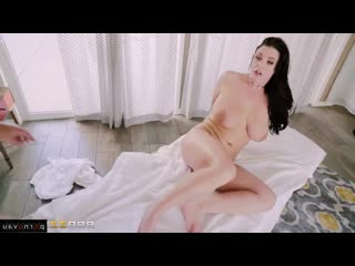 Angela White & Johnny Castle [ Mothers &  Massage / Cumshot in mouth, In oil, Shaved, Big ass]