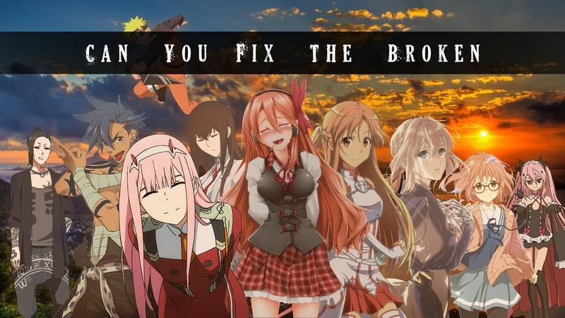 Can You Fix The Broken AMV Anime Mix