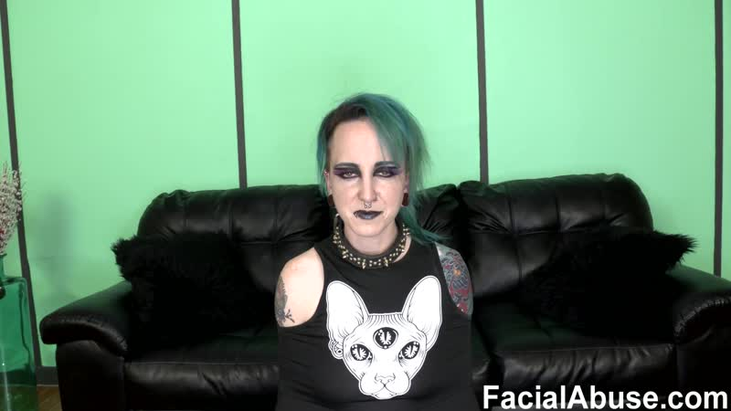 If The Borg Queen Were Goth ( E717) Blowjob, Slapping, Facefucking, Gagging, Spitting, Puking, Deepthroat,