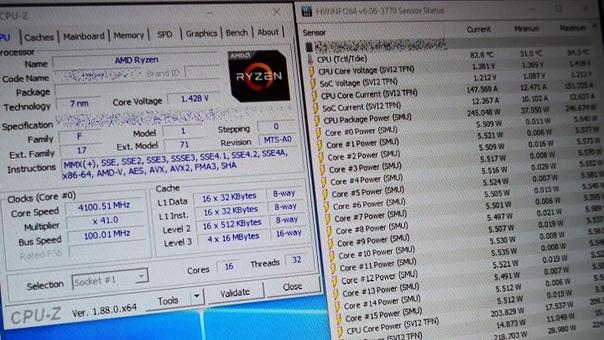 16-ядерный AMD Ryzen 3-го поколения протестирован в