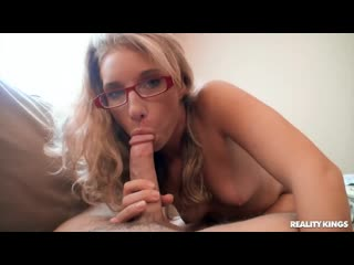 Sarah Jackson - Can You Cum On My Glasses - Porno, All Sex, Hardcore, Blowjob, Gonzo, Porn, Порно
