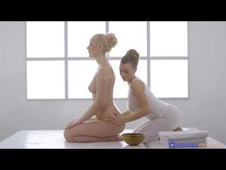 Amaris and Josephine Jackson [Massage, Lesbian, Oiled]