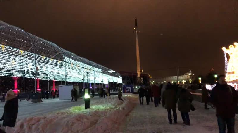 Когда Парк Победы светится... Москва