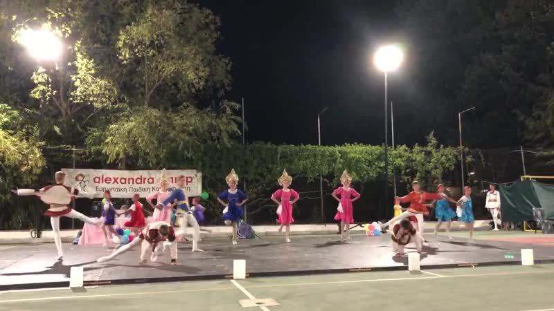Калинка 2019 в Греции школа Императорского русского балета