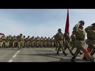 Парадные истории Росгвардии: курсанты Саратовского военного Краснознаменного института Росгвардии